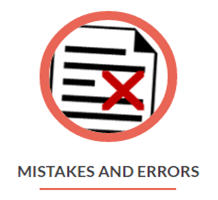 Mistakes and Errors on You Background Report