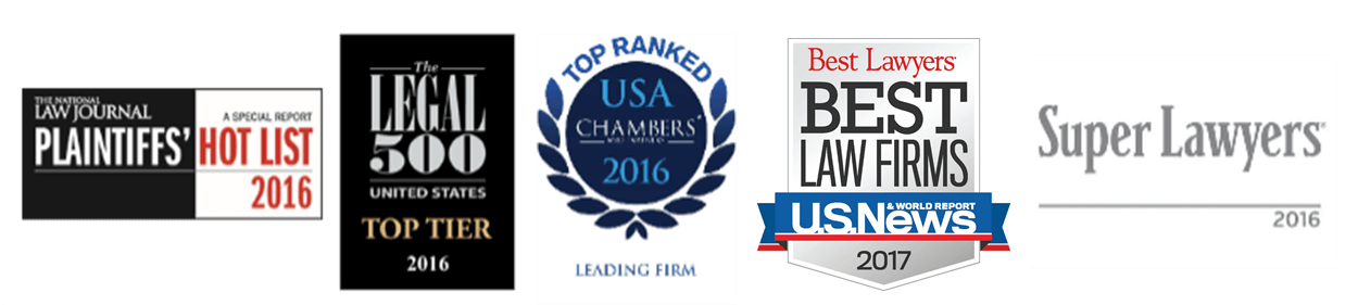 Berger & Montague is recognized as a top law firm by their clients and industry peers.